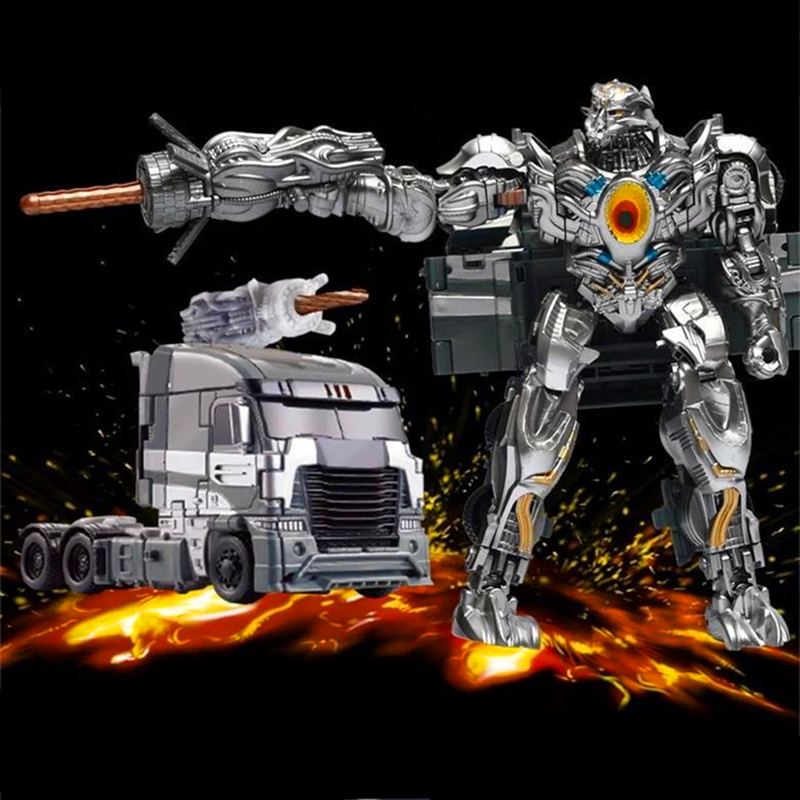 Alloy Edition Transformation 5 Robots Toys Juguetes Action Figures Kids Classic Robot Toy Gift Brinquedos Original Box