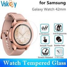 VSKEY 100PCS Gehard Glas Voor Samsung Galaxy Horloge 42mm Screen Protector D30.5mm Sport Smart Horloge Beschermende Film