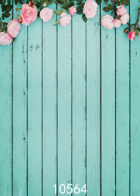 Wooden Fence Photography Backdrop Flower Wood Designs Studio Vinyl Photo  Background Prop Background For Photos