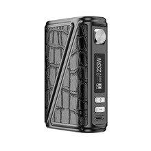 Warlock Rofvape Z-Caixa de 233 W Mod TC Vaper Cigarro Eletrônico Mods Vape Caneta 510 Vaporizador de Controle de Temperatura Duplo 18650 Bateria
