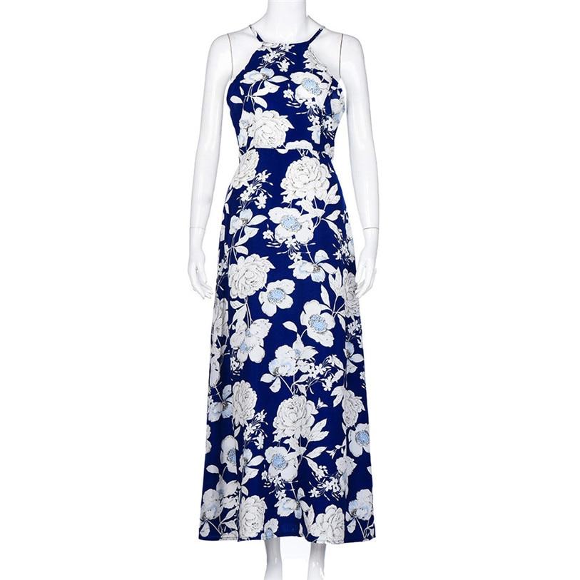 Hot 1PCS Women Dress 2018 New Fashion Women Summer Boho Long Maxi Evening  Party Dress Beach Dresses Sundress S XL WS 40-in Dresses from Women s  Clothing on ... bfc7cb60a6d5