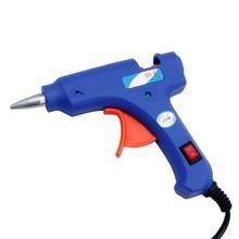 Professional Electric Heating Hot Melt Glue Gun 20W Art Craft Repair Tool US Plug H02