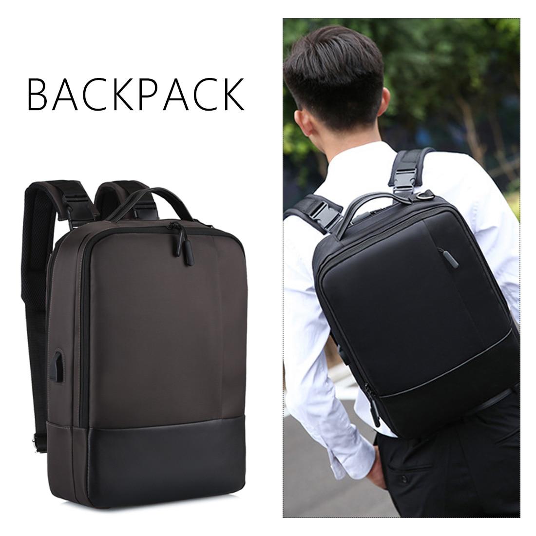 Multi Function WaterproofAnti Theft Laptop Bag Handbag Shoulder BagMen Women Notebook Handbag Backpack 17 Inch