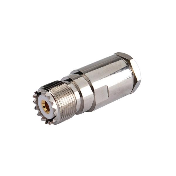 только увч зажим джек so239 разъем прямо на кабель rg8, rg214, rg213, lmr400 кабель