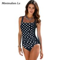 Minimalism Le Brand Bikini 2017 New Plus Size Bikini Set Sexy Swimwear Women Swimsuit One Piece