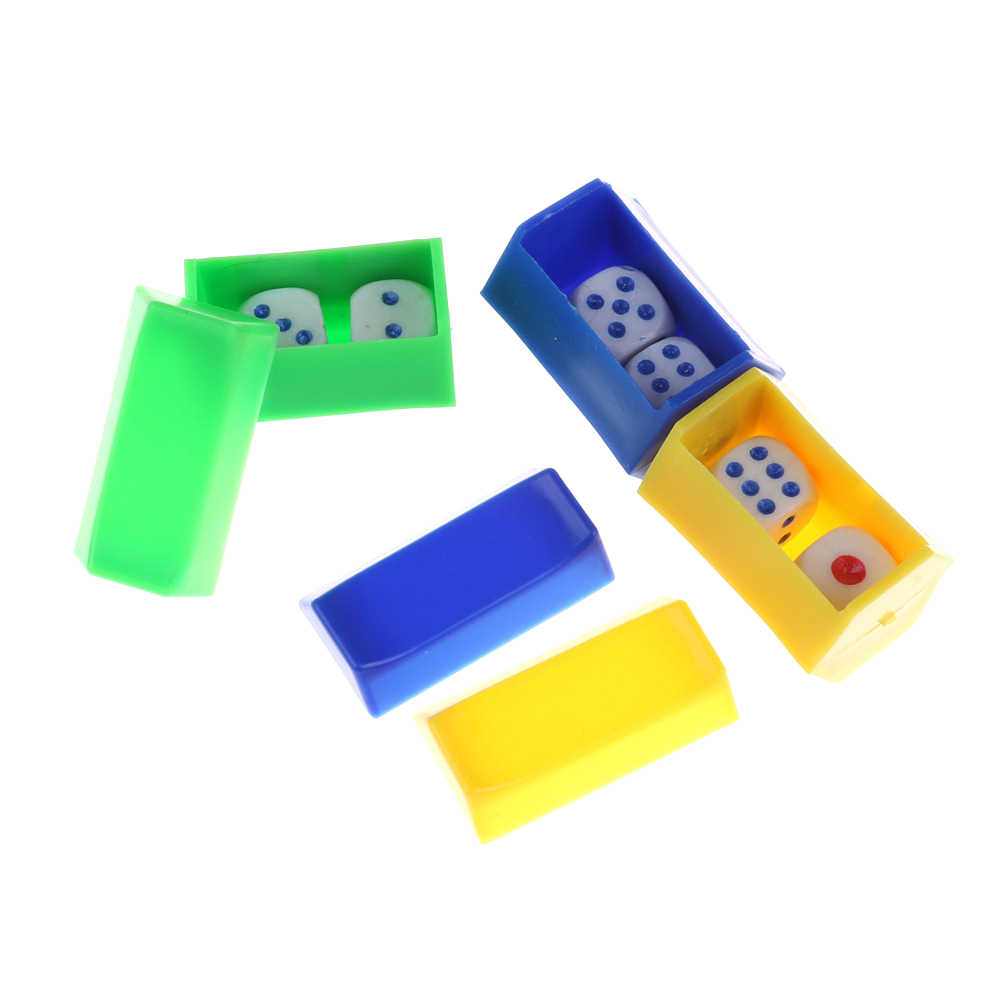 1 Juego de accesorios de dado de magia para escuchar, trucos de magia dado de magia Juguetes Divertidos para niños