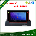 LAUNCH X431 PAD II Car Diagnostic Tablet Computer 2016 Latest Launch Model Scanner