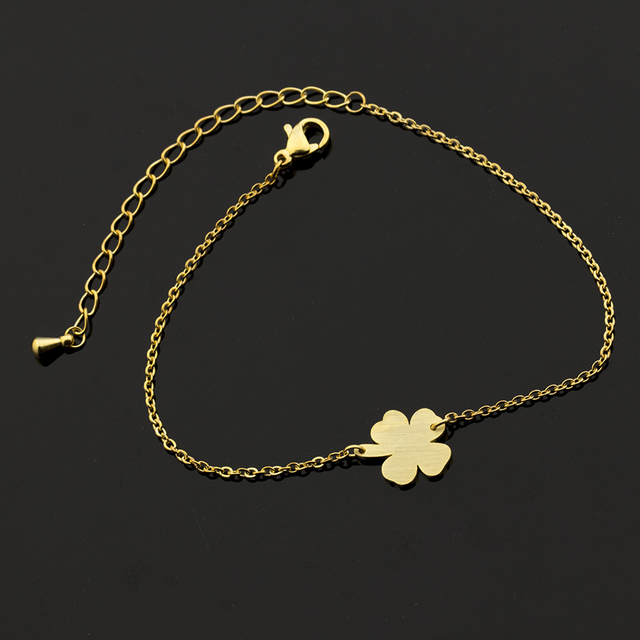 Whole 10piece Four Leaf C Charm Bracelets Women Lucky Jewelry Irish Wedding Men S Shamrock Bracelet Patrick