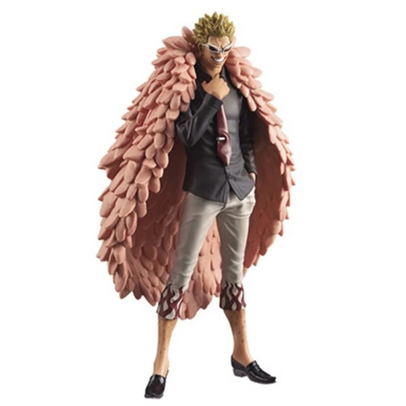 Birthday Toy Gift ONE PIECE Action Figure Collection Fruit Line User 17cm Joker Young Doflamingo Model Doll Decorations action figure 2pcs model toy kuroko tetsuya doll birthday gift for children kids 17cm