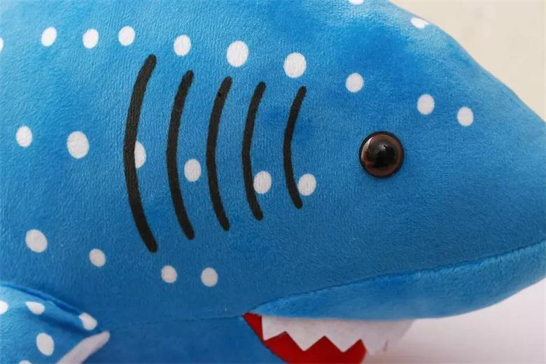 Акула 130 см Имитация животных плюшевая Мягкая кукла животное мягкая игрушка для девочек Дети любовник лучший рождественский подарок - 3
