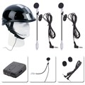 Helmet Headset Motorcycle Helmet Communicator System 2 way Helmet Intercom headset accessories car-styling