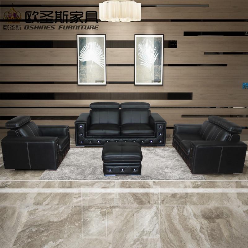 2017 new design italy Modern leather sofa ,soft comfortable livingroom genuine leather sofa ,real leather sofa set 321 seat F36A post modernity new design french 3 modern leather sofa set classic white leather