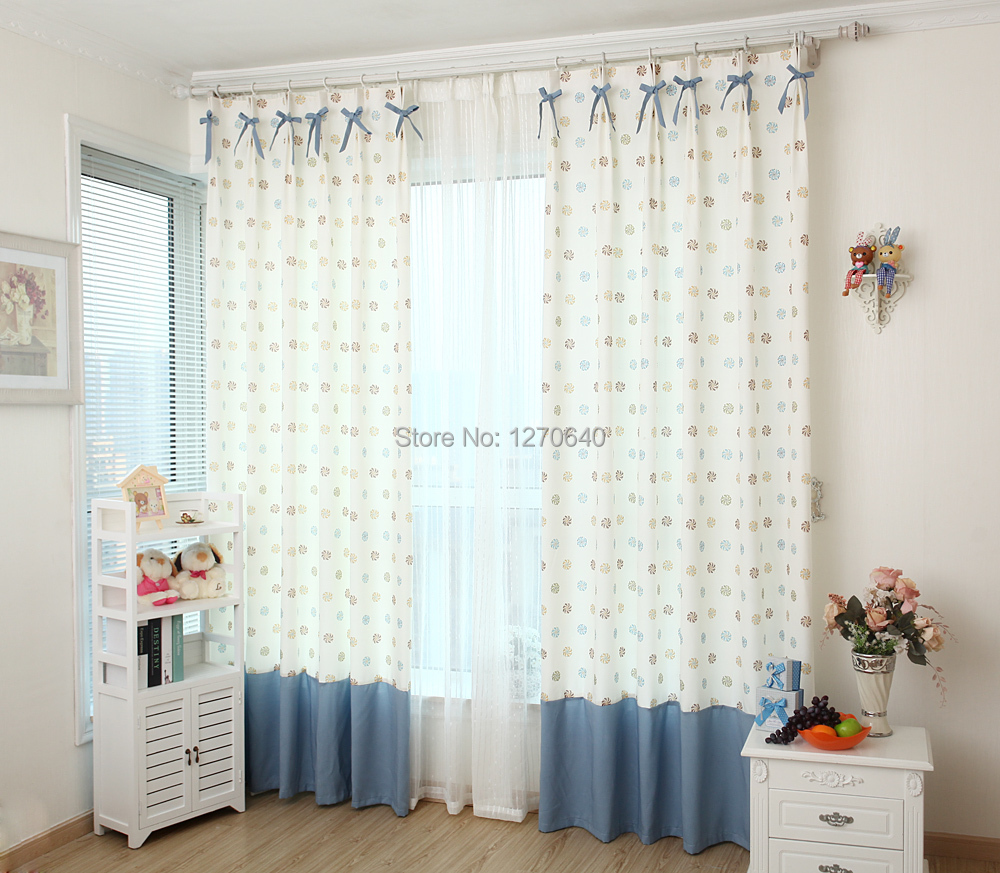 New Arrival Blackout Window Curtain Bedroom Windmill