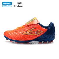 TIEBAO Outdoor Football Shoes Children Kids Soccer Cleats Breathable FG & HG & AG & S Soles Boys rils Training Sneakers