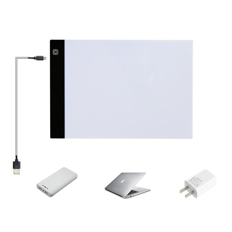 Home & Garden A4 Led Copy Pads Drawing Painting Light Box Tracing Board Digital Drawing Tablet Artcraft A4 Copy Table Led Board 13.15x9.13inch Paint By Number Pens & Brushes