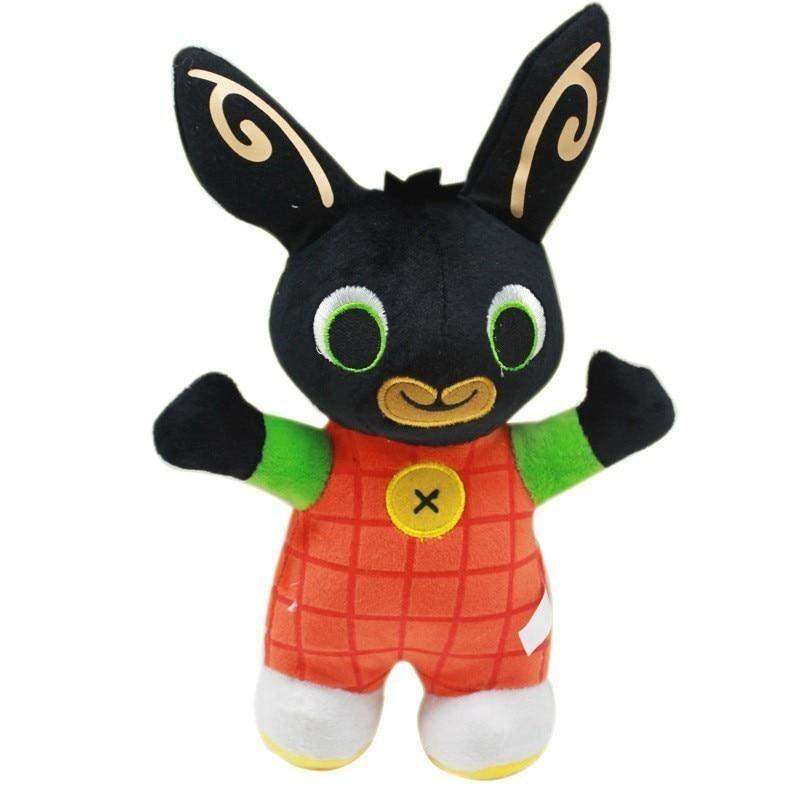 25cm Cartoon Bing Bunny Rabbit Plush Toy, Fnaf Bing Friends Flop Sula Elephant Panda Bear Stuffed Animal Plush Doll For Girls