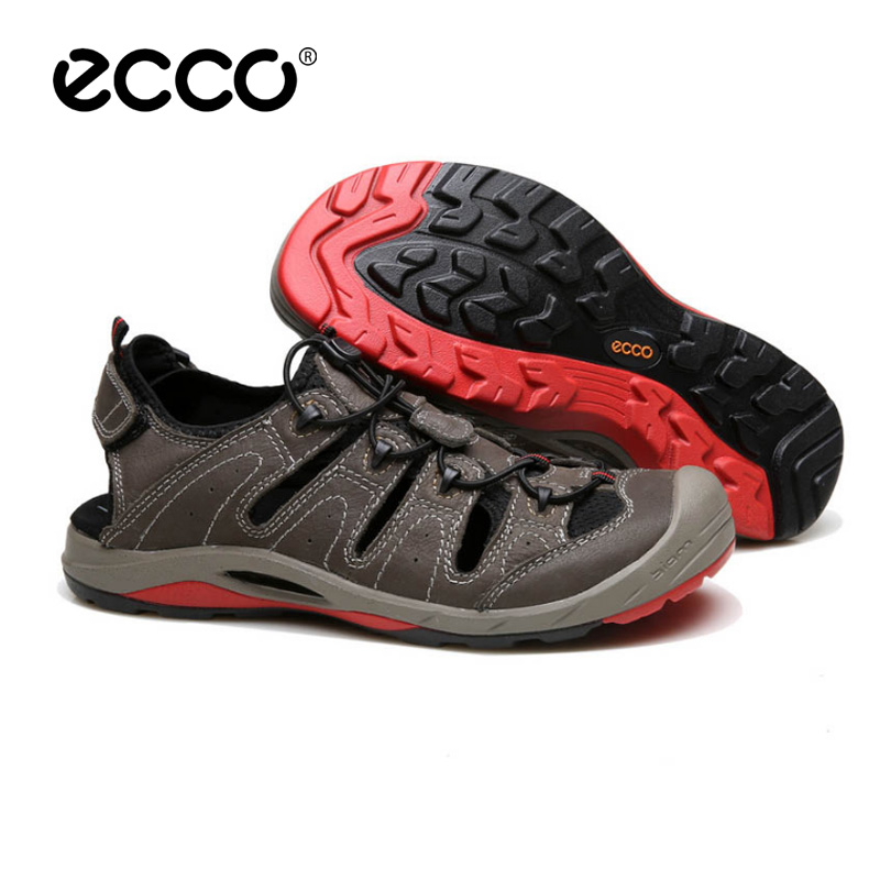 ECCO Hot New Fashion Casual Quick Dry Comfortable Cushioning Sports Outdoor Shoes Hole Men's Sandals 40-44