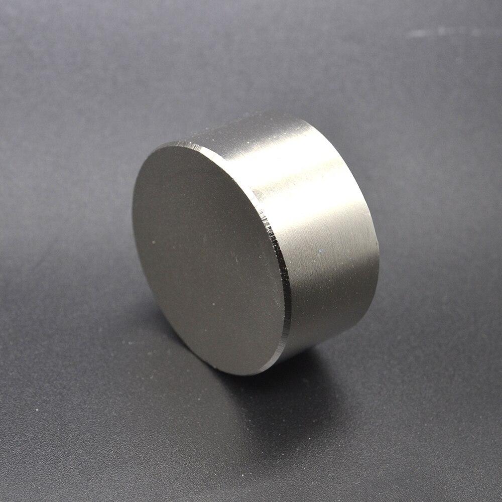 Il trasporto libero 1 pz hot magnete 40x20mm N42 Rotonda forti magneti potente magnete Al Neodimio 40x20mm in metallo Magnetico 40*20mm