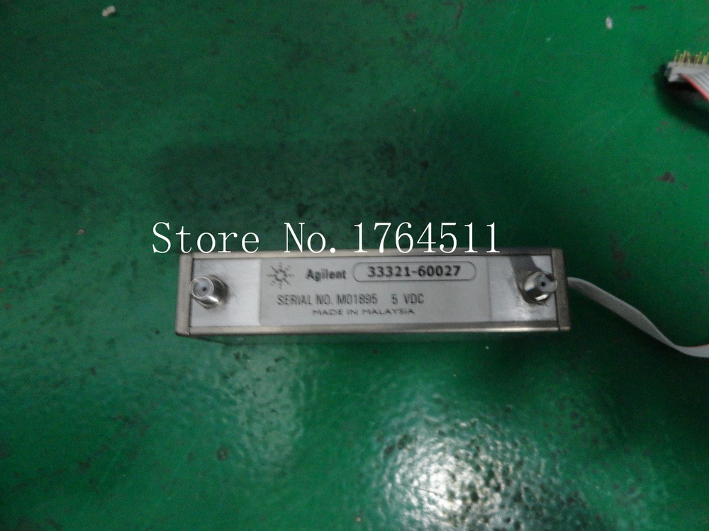 [BELLA] ORIGINAL/Agilen T33321-60027 DC-4GHZ 70dB Programmable Step Attenuator