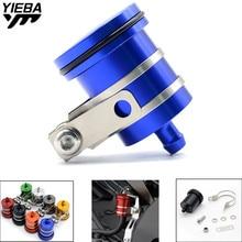 CNC Motorcycle Clutch Tank Cylinder Master Oil Cup Brake Fluid Reservoir FOR Yamaha YZF R3 YZFR3 suzuki SV650/S SFV650 GLADIUS все цены