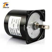 220V AC 14W mikrosilnik przekładniowy 60KTYZ 50Hz synchroniczny z magnesami trwałymi motoreduktor niska prędkość 2.5 5 10 15 20 30 50 60 80 110 obr/min