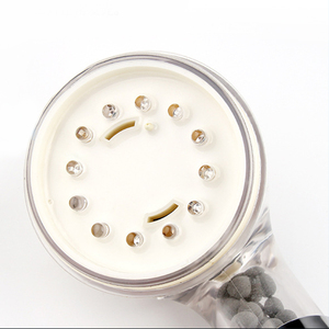 Image 5 - Lasting Durable Bath Shower Head High Pressure Boosting Water Saving Negative Ion Activated Filter Balls Beads Utility Head With