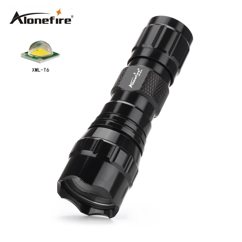 501A Mini LED Flashlight CREE XML-T6/XM-L2 Waterproof Lanterna LED Torch for 16340 CR 123A battery Flashlight Linterna led
