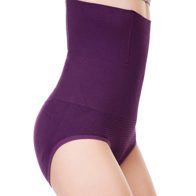 Sexy High Waist Body Shaper Panties Women Seamless Tummy Belly Control Slimming Pants Shapewear Girdle Underwear Waist Trainer