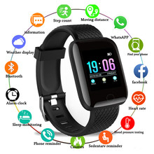 New Smart Bracelet Blood Pressure Measurement Waterproof Fitness Tracker Watch Heart Rate Monitor Pedometer Smart Band Women Men(China)