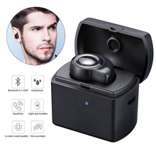 M1 Mini Bluetooth Earphone True Stereo Wireless Earbuds Headset Sports Fashion Invisible Headset With Portable Charging Box 2018 new mini invisible wireless bluetooth earphone mini bluetooth headset wireless for phone with 700 mah charging box portable