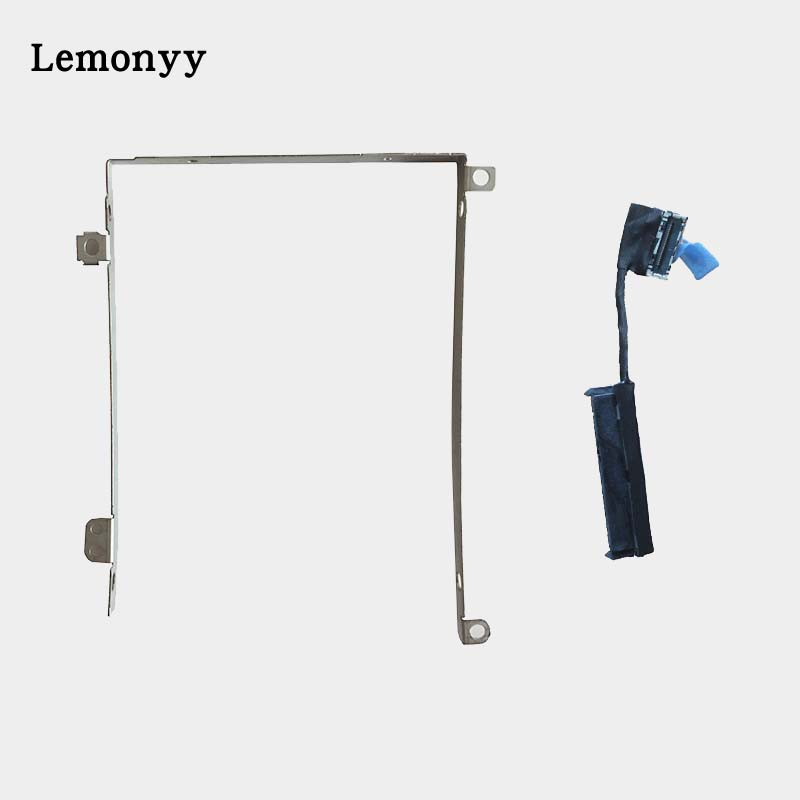 Laptop parts for Dell Precision M3800 XPS 15 9530 L522X DG95V HDD caddy bracket with SATA Connector Cable