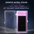 1 bandejas onda B C D 3d cílios, Falso Pestanas Falsas natural Mink Pestana Extensão cílios maquiagem
