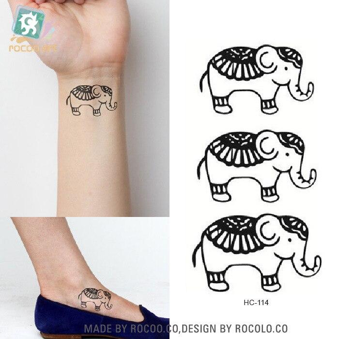 2 sheets custom tattoo stickers waterproof female models for Custom tattoo stickers