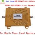 Dual Band GSM/DCS 900/1800 MHz 3G 4G Teléfono Celular amplificador de Señal Del Repetidor, GSM/DCS Teléfono Móvil amplificador de Señal/Repetidor/amplificador