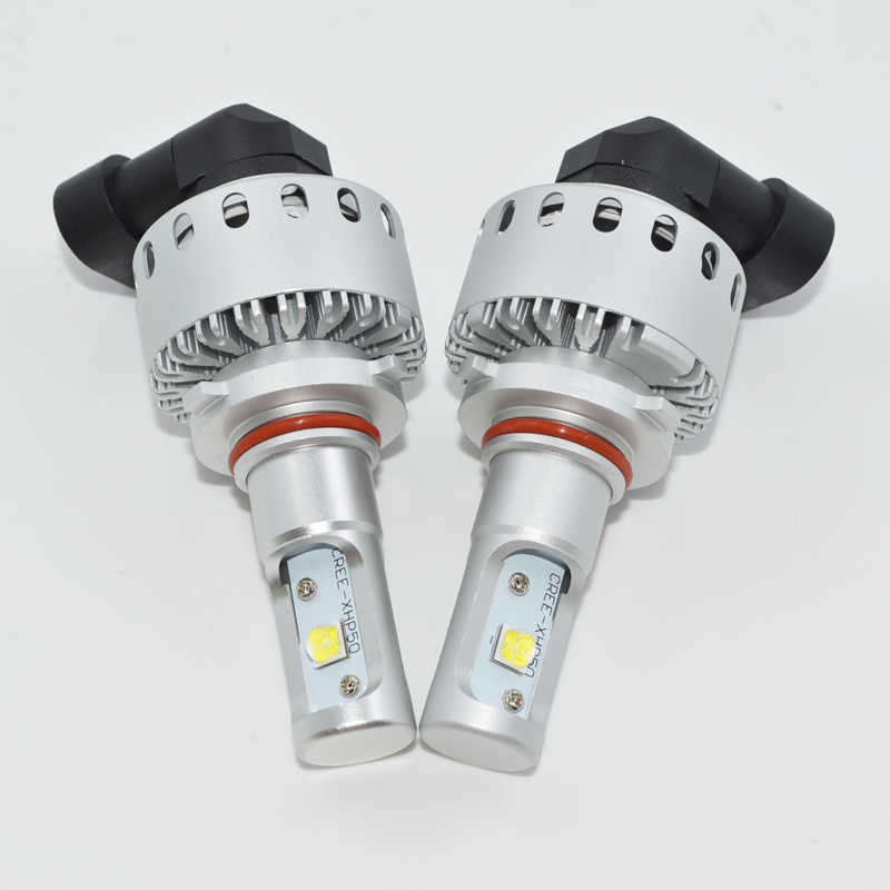 2pcs/lot High Power 80W LED HB4 9006 led Driving Light Bulbs 9006 Lamp Car LED HeadLights White 6000k DC 12V 24v driving lights