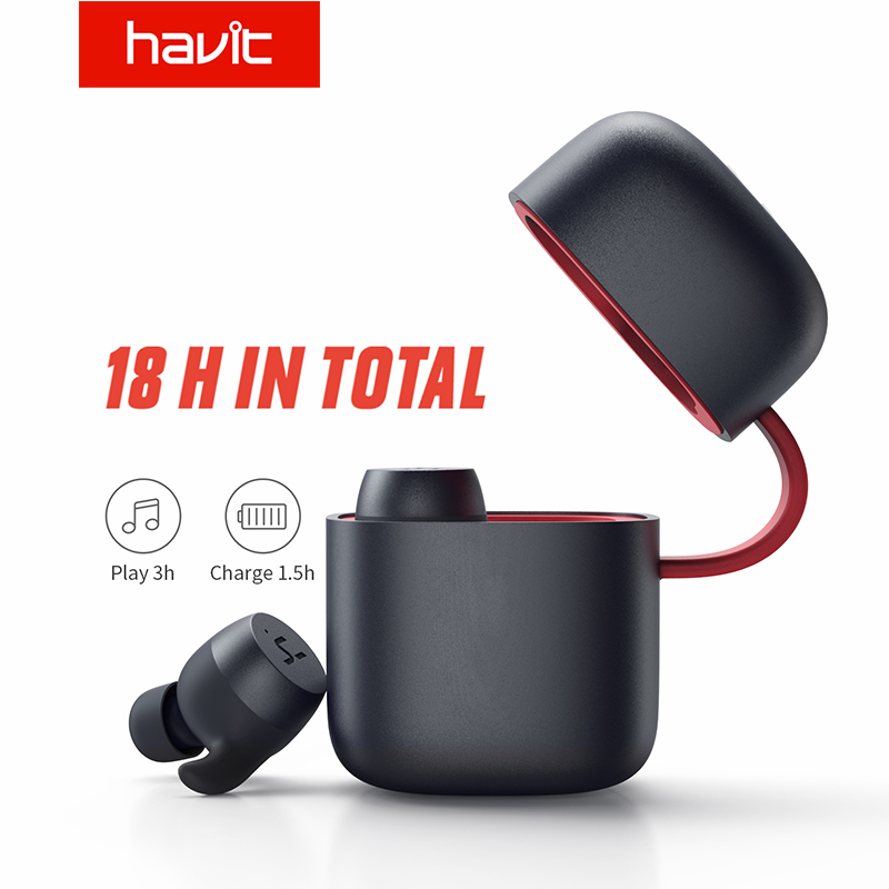 Image 5 - HAVIT TWS Bluetooth Earphone Wireless Sport Earphone IPX6 Touch Screen Panel Earbuds With Microphone for Bilateral call G1pro-in Bluetooth Earphones & Headphones from Consumer Electronics