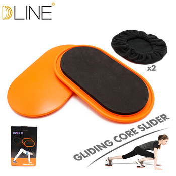 1 pair Sport Sliders Core Workout Discs Core Ab Exercise Gym Training Slimming Abdominal Equipment Fitness Slide gliding Discs