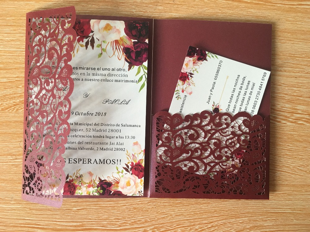 All colors lace tri fold flower pocket customized wholesale greeting all colors lace tri fold flower pocket customized wholesale greeting cards birthdayweddingparty invitation greeting cards in cards invitations from home m4hsunfo