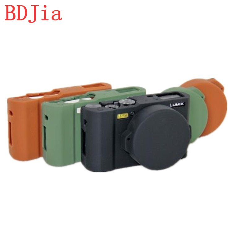 High Quality Silicone Camera Case Bag Cover for Panasonic LX10 Camera In 3 Colors,Free Shipping