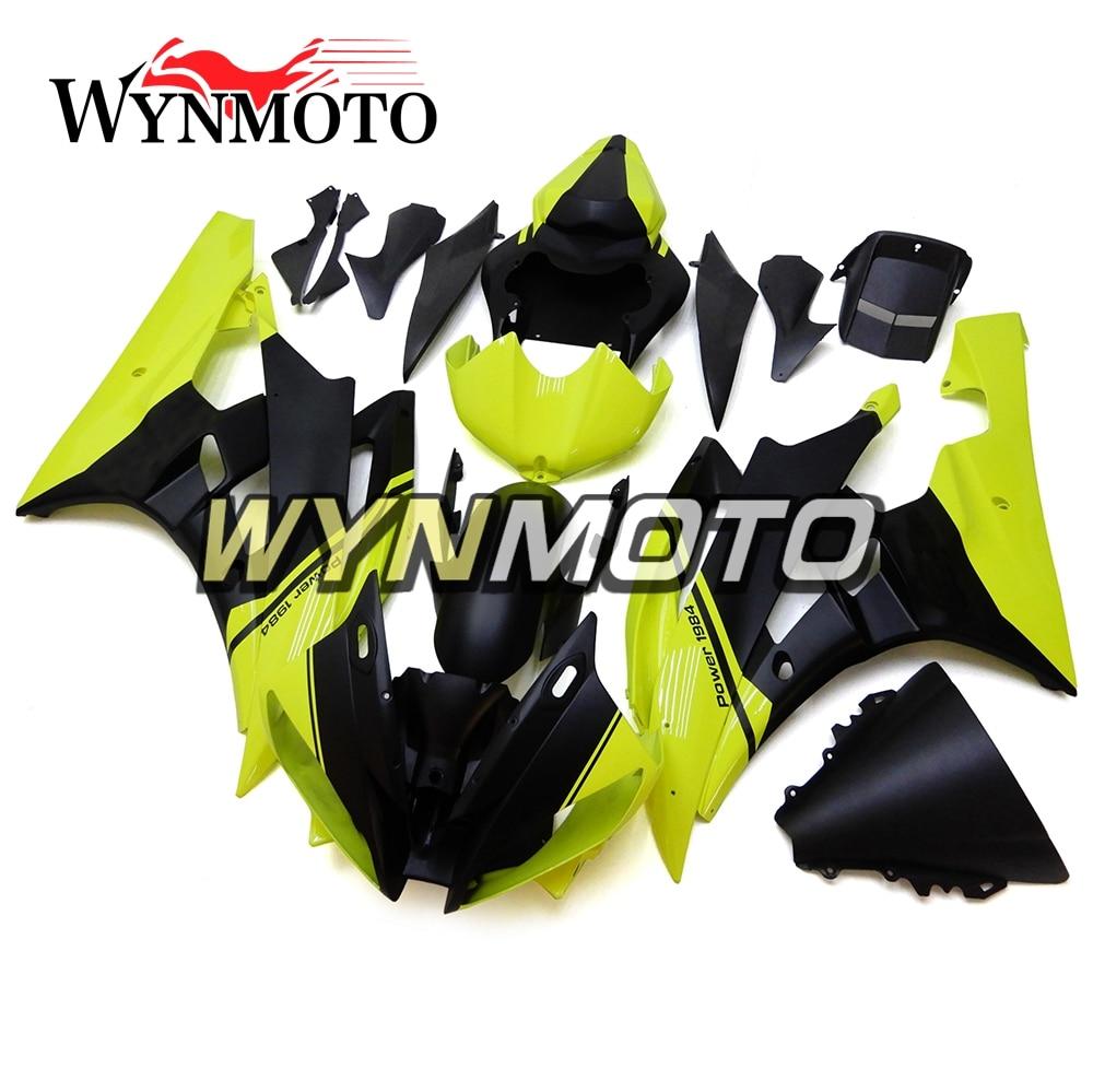 2008-2015 Yamaha YZF R6 NEW BLACK MIRRORS