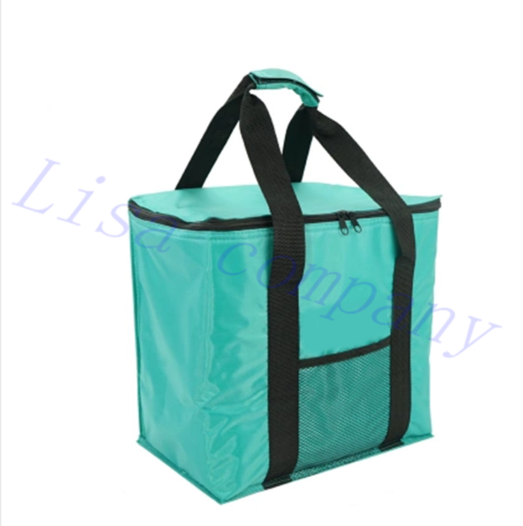 Portable Thermal Insulated Cooler Picnic Bag Food Box Handbag Outdoor Picnic Storage Bag 20L Lunch Bag Free Shipping