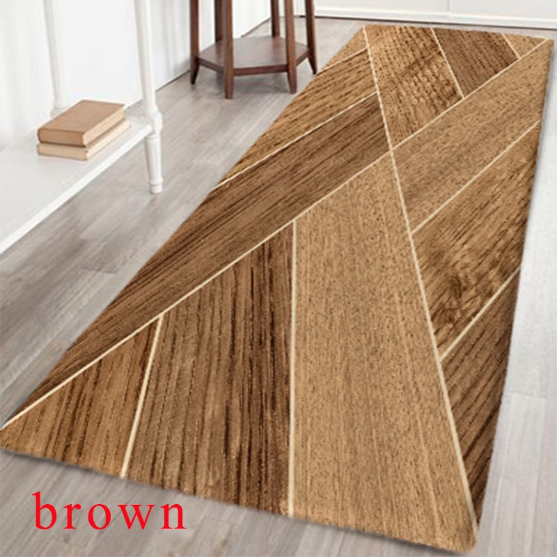 Us 8 97 31 Off Joint Wood Board Pattern Non Slip Floor Area Rug For Runner Kitchen Bathroom Bedroom Living Room In Carpet From Home Garden On