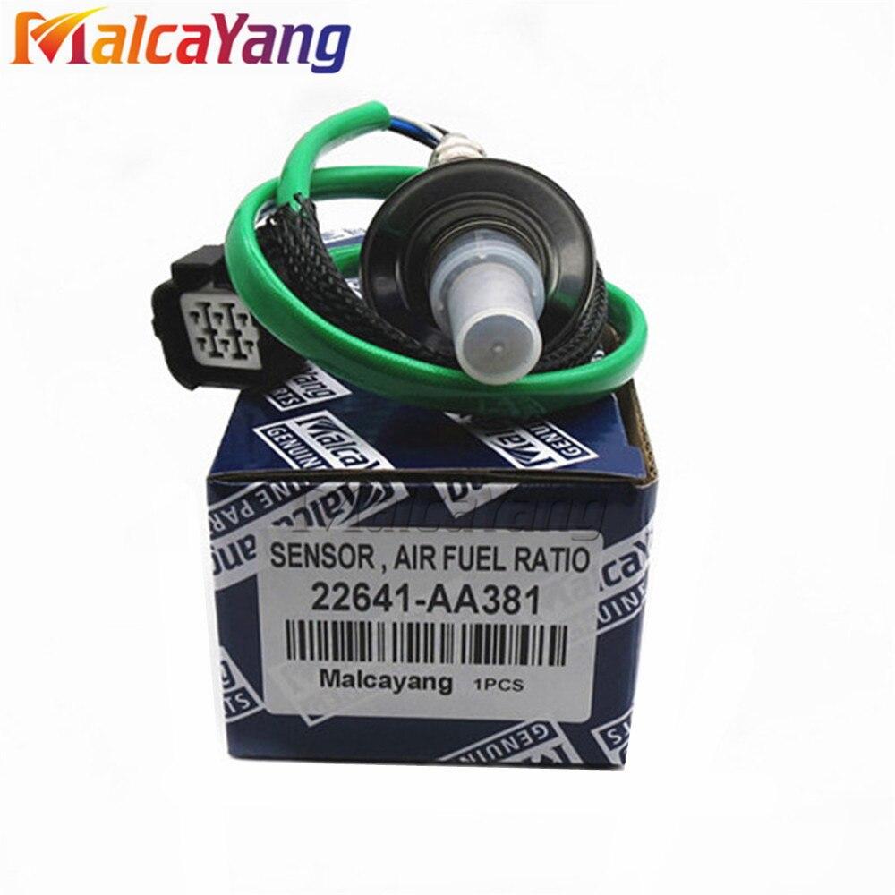 Haute Qualité Air Fuel Ratio Capteur Pour Forester S11 XT Impreza Liberty Outback B13 O2 capteur D'oxygène 22641-AA381 22641AA381