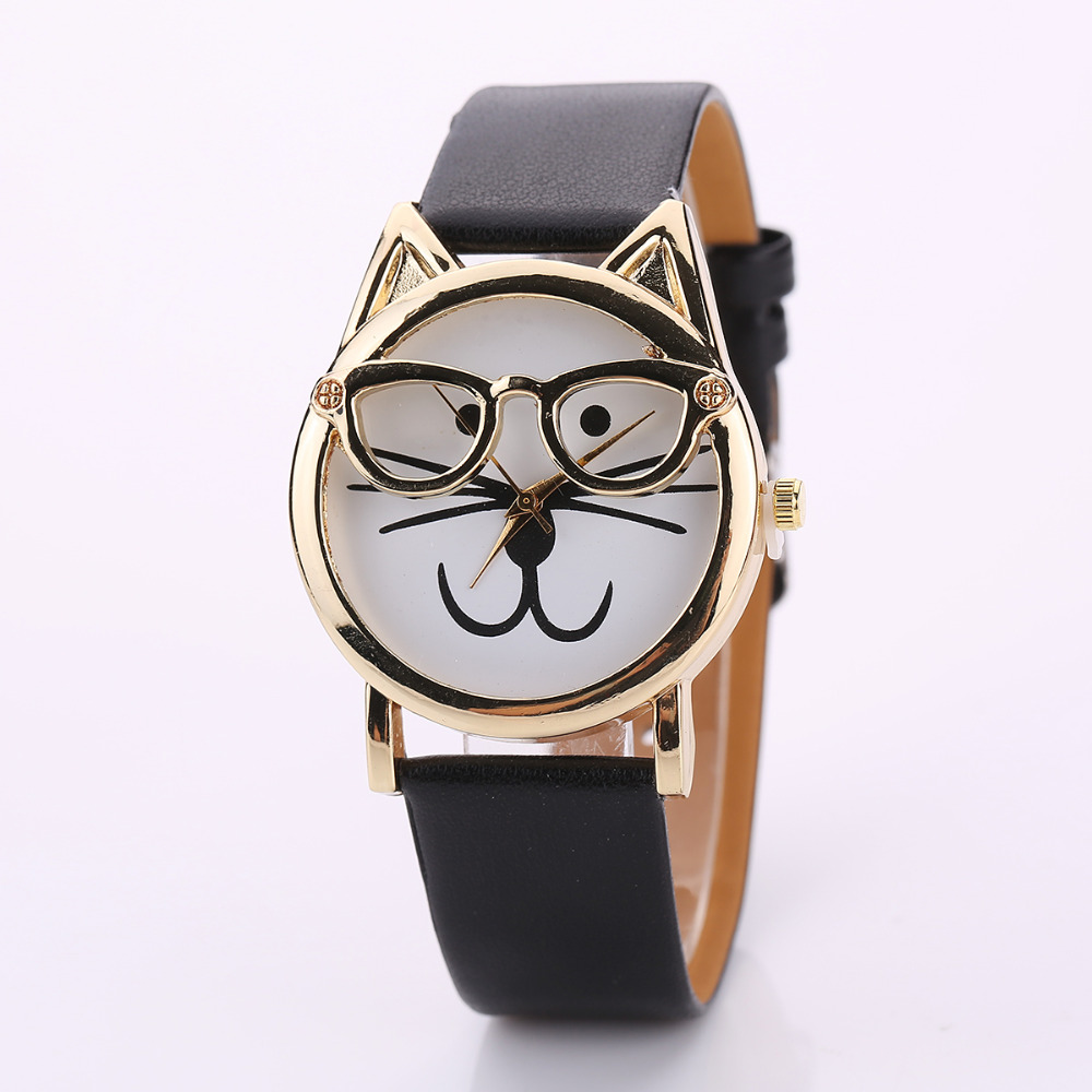 image mujer watch collections clock brand dog dogs jeshers women watches famous ladies leather bracelet relojes pu product cute