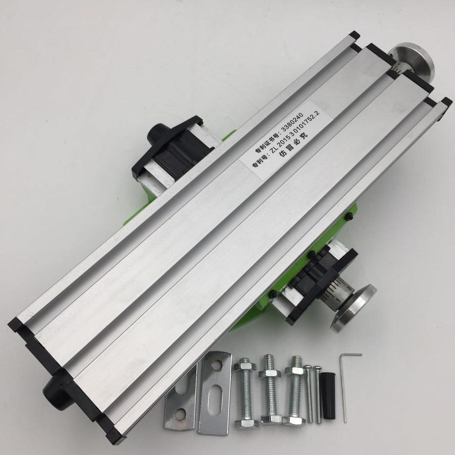 310*90mm DIY mini Multi-function Milling Machine Miller Precisi Cross Table