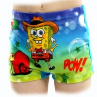 2016 Boys Swim Trunks Swimsuit Children\'s Swimwear Spiderman Sponge bob Kids Swimming Suit Beach Shorts Pants Top Quality
