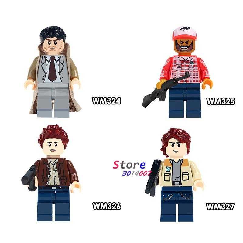 Único Filme Bobby SPN Supernatural Sam Dean Winchester Castiel modelos blocos de construção de tijolos brinquedos para as crianças kits