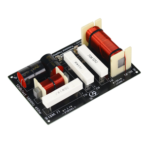 Image 4 - GHXAMP 450 ワットスピーカークロスオーバー 1.8 Khz ツイーター低音 2 方法分周器 4 8Ohm 双方向ステージスピーカー専用周波数分周器 1 ピース