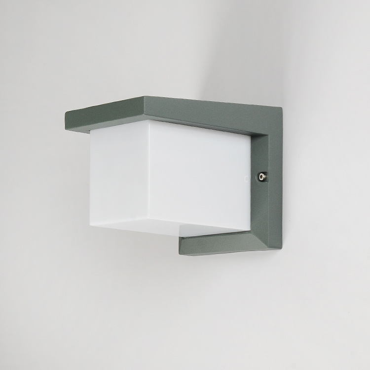 Waterproof Outdoor LED Wall Light 10W Modern Cube Wall Sconce Lamp Outdoor Sconces Exterior Gate Balcony Garden Yard Lighting