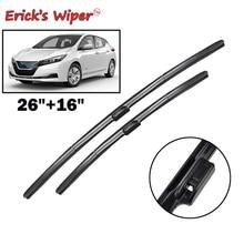 "Erick's Wiper LHD спереди щетки для Nissan Leaf лобовое стекло ветрового стекла Лобовое стекло 2""+ 16"""
